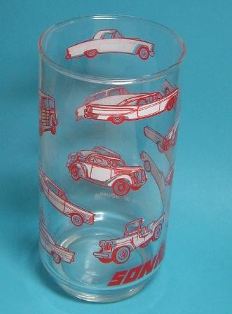 Ford Thunderbird In Glassware