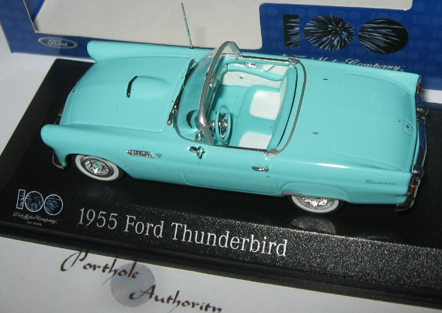 MiniCh&s / China 2003 55 Thunderbird ... & 1955 Thunderbird Diecast List markmcfarlin.com