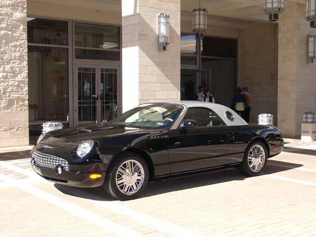 2002 Ford Thunderbird Neiman Marcus. 2002 to 2005 ford thunderbird