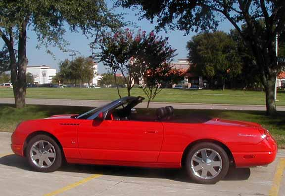 2003 ford thunderbird colors and options rh portholeauthority com 2016 Ford Thunderbird 2016 Ford Thunderbird