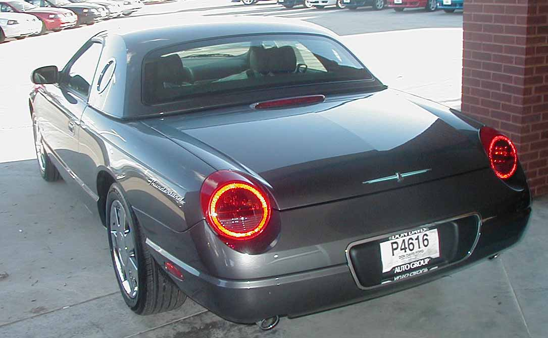 2003 Ford Thunderbird Colors And Options