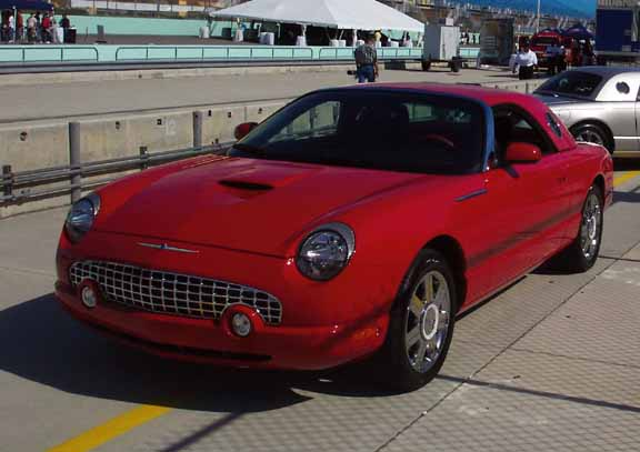 2005 ford thunderbird 50th anniversary with performance white hardtop sciox Image collections