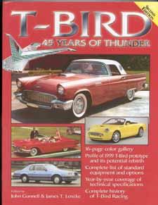 2002 Ford Thunderbird T-Bird 3 Postcard Set Mint!