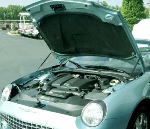 1996 Ford Thunderbird Transmission: The NEW 2002 Thunderbird Engine