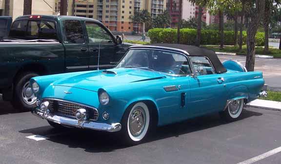 The Classic 1956 Ford Thunderbird